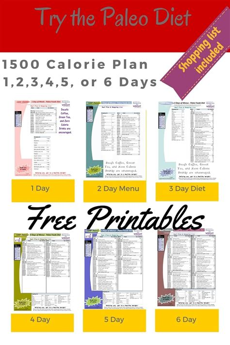 1500 calories a day diet plan picture 1