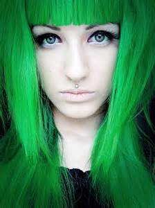 green hair dye picture 13