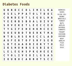 diabetic diets printouts picture 6