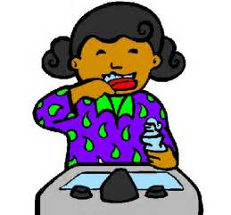 brushing teeth clipart picture 6