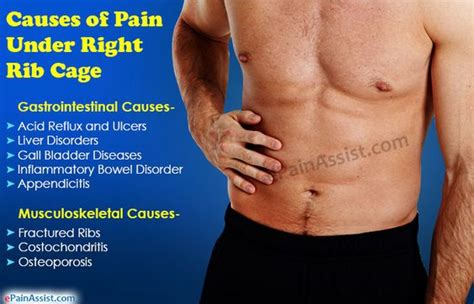 pain under ribcage pain when bladder is full picture 1