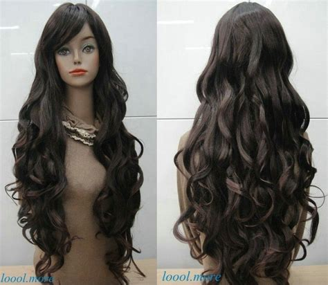 curly long hair wigs picture 1