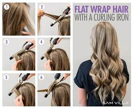 how to curl hair with hot iron picture 10