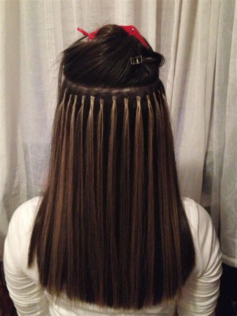fused hair weaving picture 3