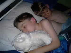sleeping young boys picture 1