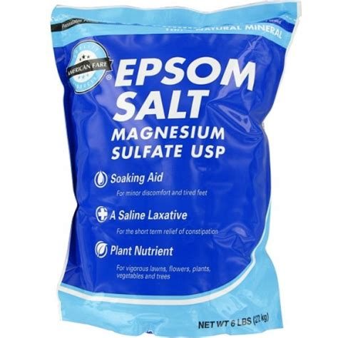 what is epsom salt used for in a picture 11