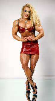 women muscles bodybuilders and wrestlers their shows of picture 1