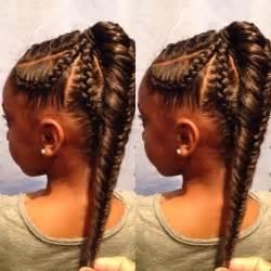 African american hair plat styles picture 1