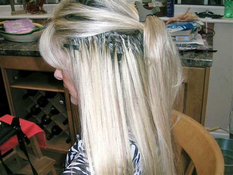 bonding hair extensions picture 7