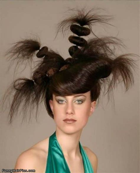 crazy hair picture 5