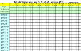 weight loss graph printable picture 9