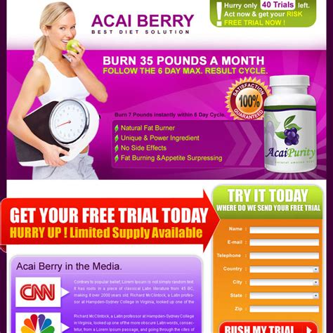 free trial of acai berry weight loss formula picture 2