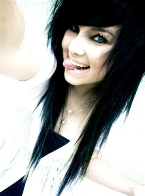 emo girl long hair picture 6