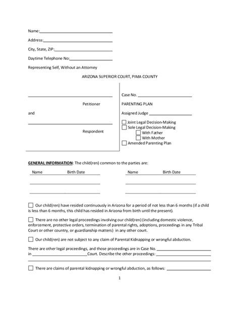 joint power of attorney form arizona picture 12