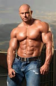 bald muscle men picture 2