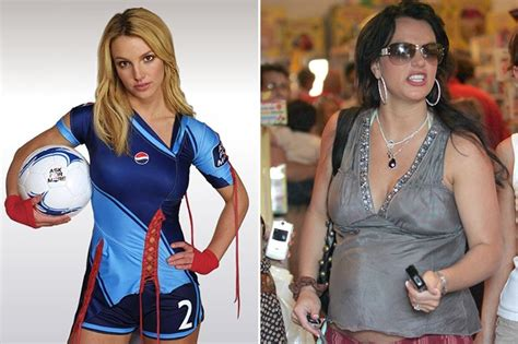 britney spears weight gain picture 11
