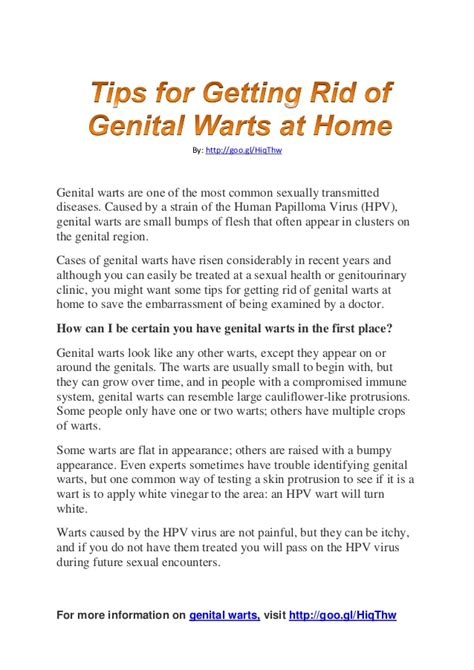 how did i get genital warts picture 2