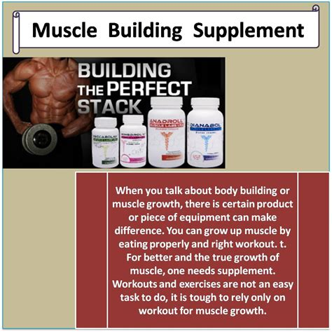 muscle building supplement picture 1