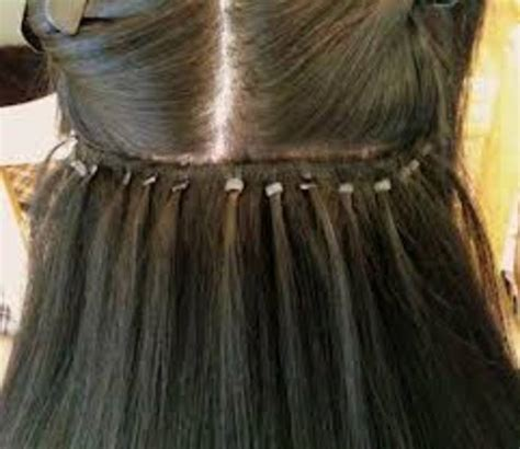 flat tip hair extensions picture 2