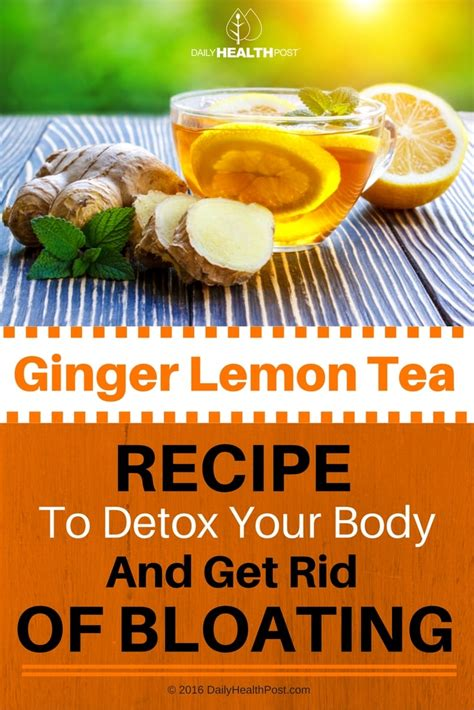 will ginger tea get rid of metabolites picture 6