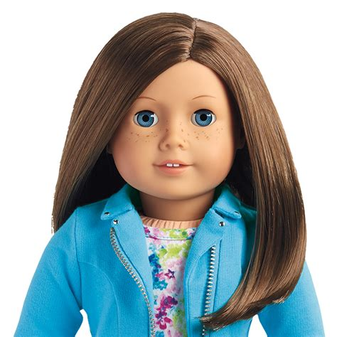 american girl brown hair blue eyes picture 3