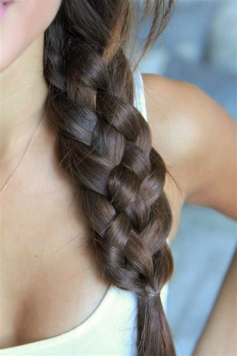 5 stranded braid hair picture 3