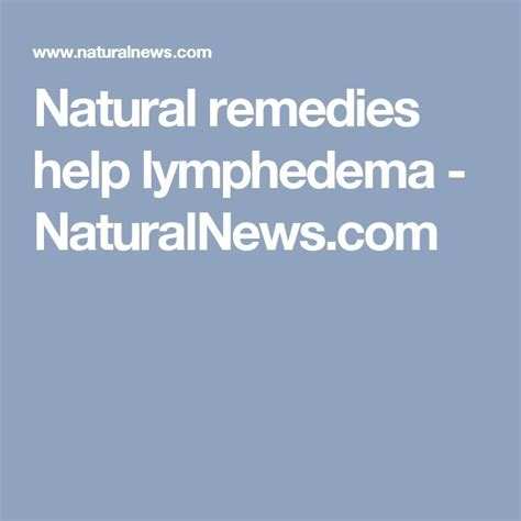 what natural heb helps lymphocele picture 15