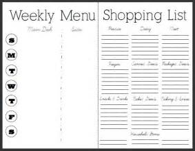 free diet plans with shopping list picture 14