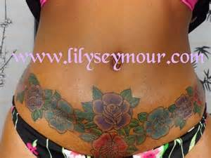 stomach tattoo to cover stretch mark picture 2