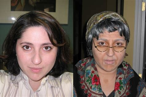 women before and after aging picture 6