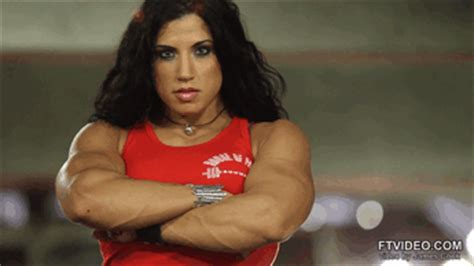 female muscle gif picture 10