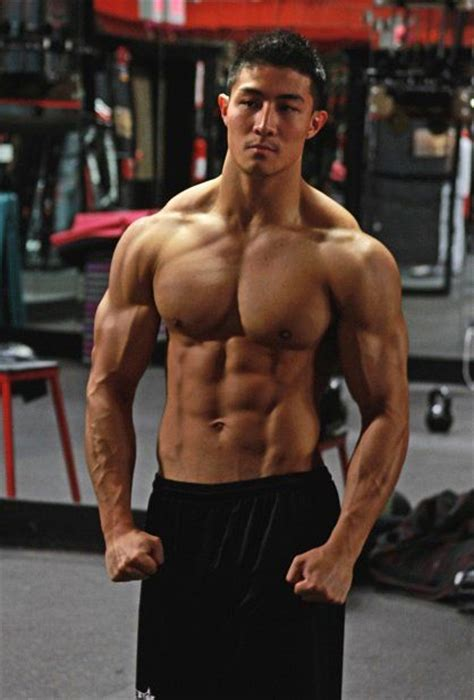 asian muscles guy picture 9