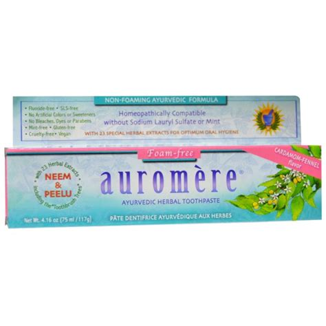 auromere herbal toothpaste picture 9