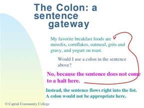 Sentence colon picture 1