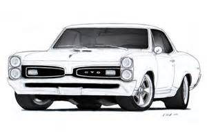 drawing old muscle cars picture 10