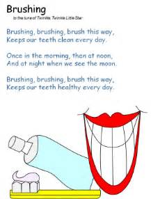 brushing teeth song and preschool picture 13