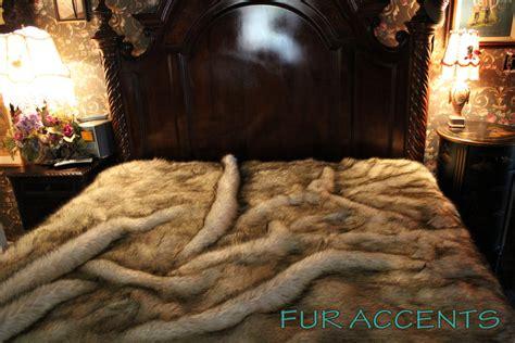 faux bear skin blanket picture 6