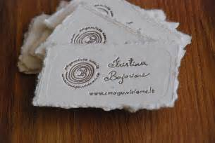 homemade business cards picture 6