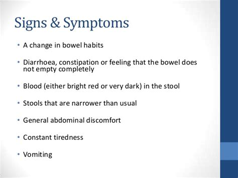 why is a thin stool a sign of colon cancer picture 8