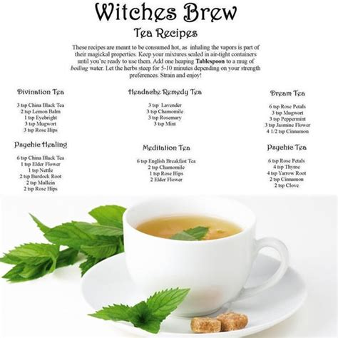 wiccan herbal recipes picture 1
