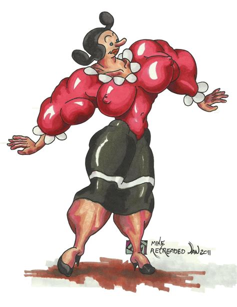 female muscle growth after spinach picture 10