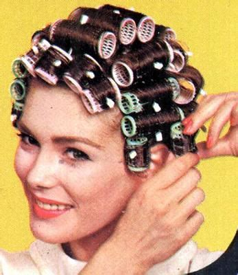 women who like curling crossdressers hair on rollers picture 7