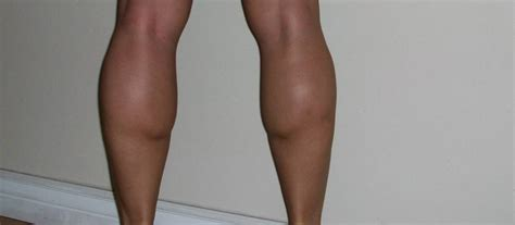 calves legs muscle female picture 9