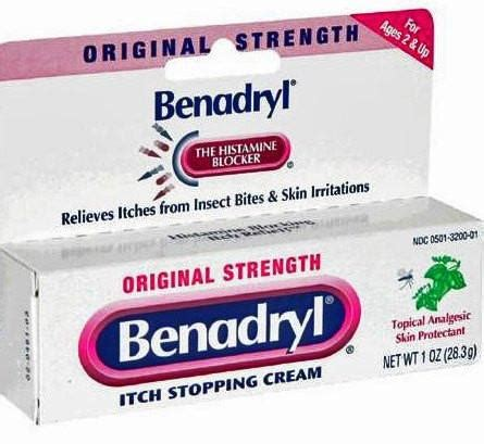 will benadryl cream applied to the skin make picture 7