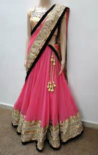 back side views of lehenga picture 1