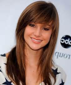 bangs hairstyles on long hair picture 2