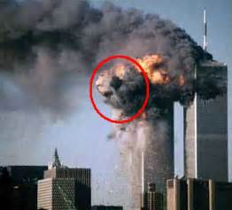 wtc pictures of devil's face in smoke on picture 11