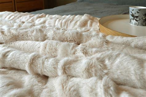 faux bear skin blanket picture 19