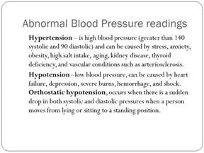 Low blood pressure readings picture 7
