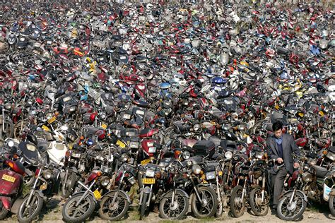 bike piles picture 2